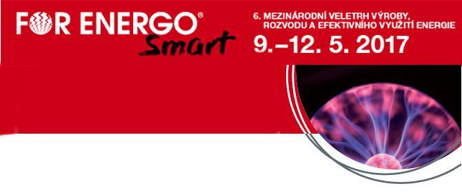 Lístky na veletrh FOR ENERGO Smart Praha