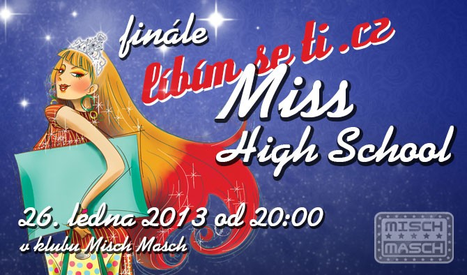 Finálový večer Líbímseti Miss High School 2012 Praha