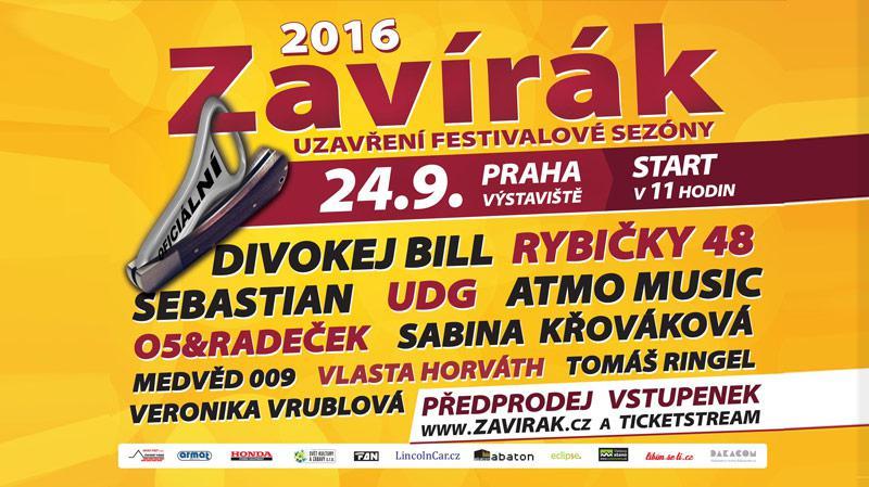 ZAVÍRÁK - ukončení festivalové sezóny